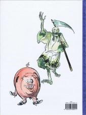 Verso de Les aventures de la Mort et de Lao-Tseu -1- La rage de vivre