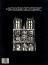 Verso de Le templier de Notre-Dame -2- La nuit du Golem