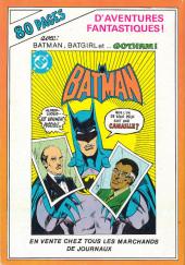 Verso de Batman (collection Le Justicier) -1- Rendez-vous à Paris !
