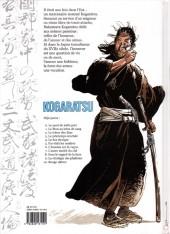 Verso de Kogaratsu -10- Rouge ultime