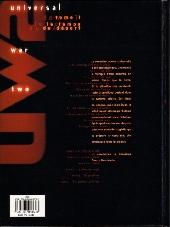 Verso de Universal War Two -1- Le temps du désert