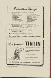 Verso de (Recueil) Tintin (Album du journal - Édition belge) -44- Tome 44