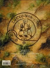 Verso de Le chant des Terres -1- Sheriffmuir