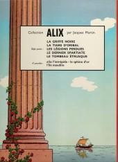 Verso de Alix -8a1969- Le tombeau étrusque