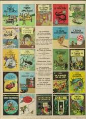 Verso de Tintin (Historique) -18C2- l'affaire tournesol