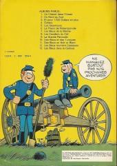 Verso de Les tuniques Bleues -2c78- Du nord au sud