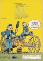 Verso de Les tuniques Bleues -13a1979- Les bleus dans la gadoue