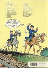 Verso de Les tuniques Bleues -25a1990- Des bleus et des bosses