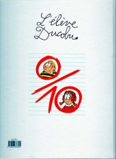 Verso de L'Élève Ducobu -15b2013-5€- Ça sent les vacances !