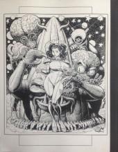 Verso de (AUT) Adams, Arthur -9- Arthur Adams Sketchbook IX