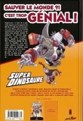 Verso de Super dinosaure -1- Tome 1