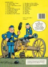 Verso de Les tuniques Bleues -20a1983- Black face