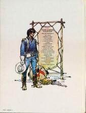Verso de Blueberry -2d1979- Tonnerre à l'ouest