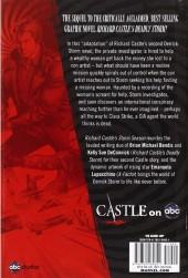 Verso de Castle: Richard Castle's Storm Season (2012) - Richard Castle's Storm Season