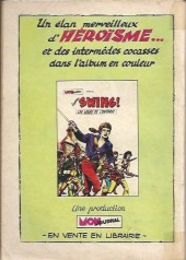 Verso de Capt'ain Swing! (1re série) -90- Le traître