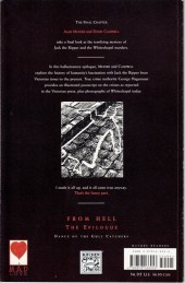 Verso de From Hell (1991) -11- From Hell: Dance of the Gull-catchers