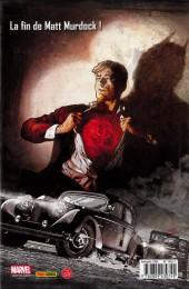Verso de Daredevil : L'Homme sans peur (Marvel Deluxe - 2008) -4- Le Décalogue