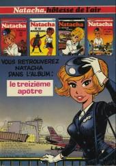 Verso de Natacha -1a1977- Hôtesse de l'air