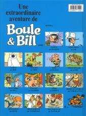 Verso de Boule et Bill -HS02b- Bill a disparu !