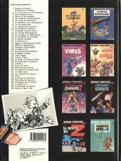 Verso de Spirou et Fantasio -39- Spirou à New York
