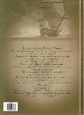 Verso de Le sang du dragon -7- L'Homme au masque de fer