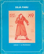 Verso de Agent Secret X-9 (Focus) -2- Volume 2
