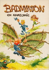 Verso de Badminton -1- Badminton en Amazonie