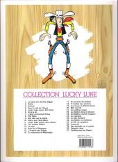 Verso de Lucky Luke -18f13- À l'ombre des derricks