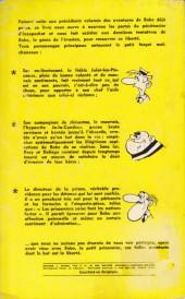 Verso de Bobo -6GP- Une baballe pour Bobo