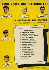 Verso de La patrouille des Castors -8b71- Le hameau englouti