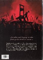 Verso de Fraternités -1- 1792, l'ordre guillotiné
