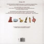 Verso de L'Étoffe des légendes -3- Une histoire de fou