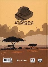 Verso de Les jardins du Congo
