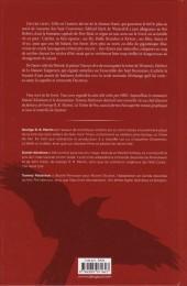 Verso de A Game of Thrones - Le Trône de fer -3- Volume III