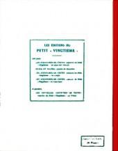 Verso de Quick et Flupke -5- (Casterman, Fac-similé N&B) -2- Les nouveaux exploits des Gamins de Bruxelles
