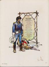 Verso de Blueberry -3b1980- L'aigle solitaire