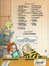 Verso de L'Élève Ducobu -5b2012- Le roi des cancres