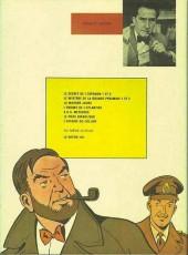 Verso de Blake et Mortimer (Historique) -5d74- La Marque Jaune