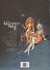Verso de Les guerrières de Troy -2- L'or des profondeurs