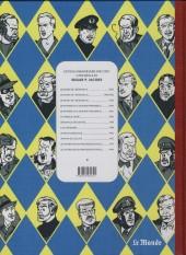 Verso de Blake et Mortimer -1Monde- Le Secret de l'Espadon - Tome I
