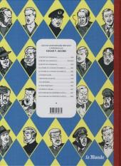 Verso de Blake et Mortimer -3Monde- Le Secret de l'Espadon - Tome III - SX1 contre-attaque