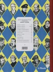 Verso de Blake et Mortimer (Les Aventures de) -6Monde- La marque jaune