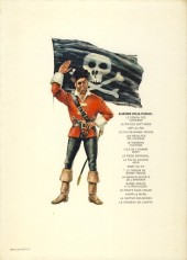 Verso de Barbe-Rouge -8c1979- Le piège espagnol
