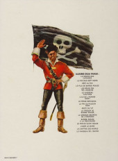 Verso de Barbe-Rouge -1b1979- Le démon des Caraïbes