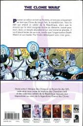 Verso de Star Wars - The Clone Wars -5- Mission 5 : Le temple perdu