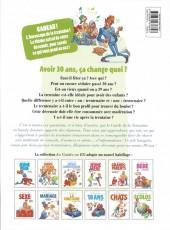 Verso de Le guide -11c13- Le guide de la trentaine