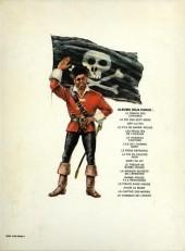 Verso de Barbe-Rouge -10b1979- Mort ou vif