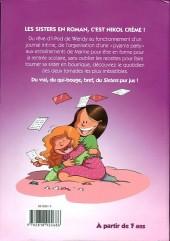 Verso de Les sisters -RJ06- Tonnerre de tendresse