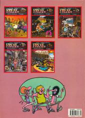 Verso de Les fabuleux Freak Brothers -6- Intégrale - Tome 6