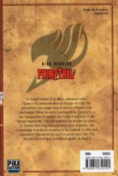 Verso de Fairy Tail -32- Tome 32
